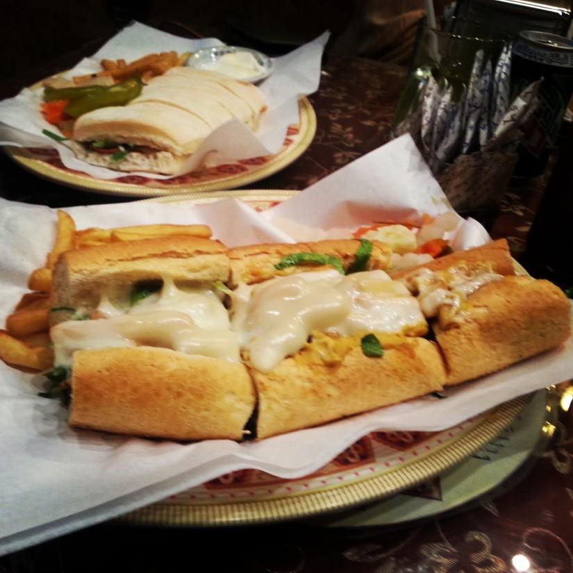 Deyar's Chicken Submarine sandwich is to die for ❤