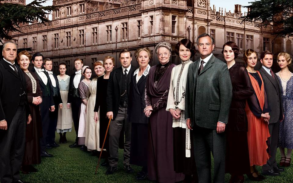 Totally in love with Downton Abbey