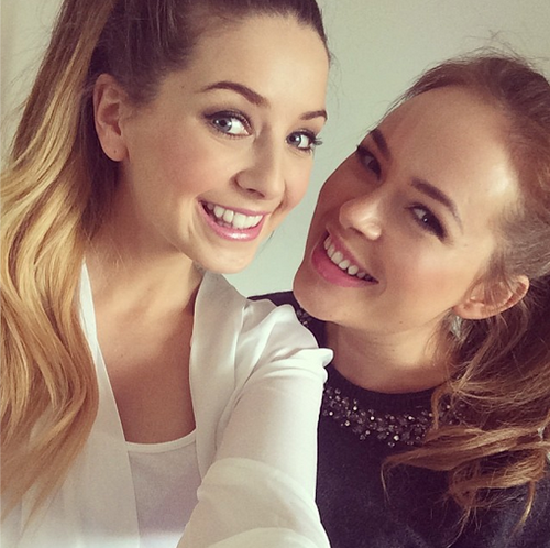 Bloggers - Zoe Sugg and Tanya Burr | Love these two so very much ❤