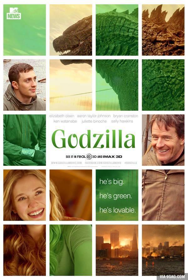 Godzilla - 9gag