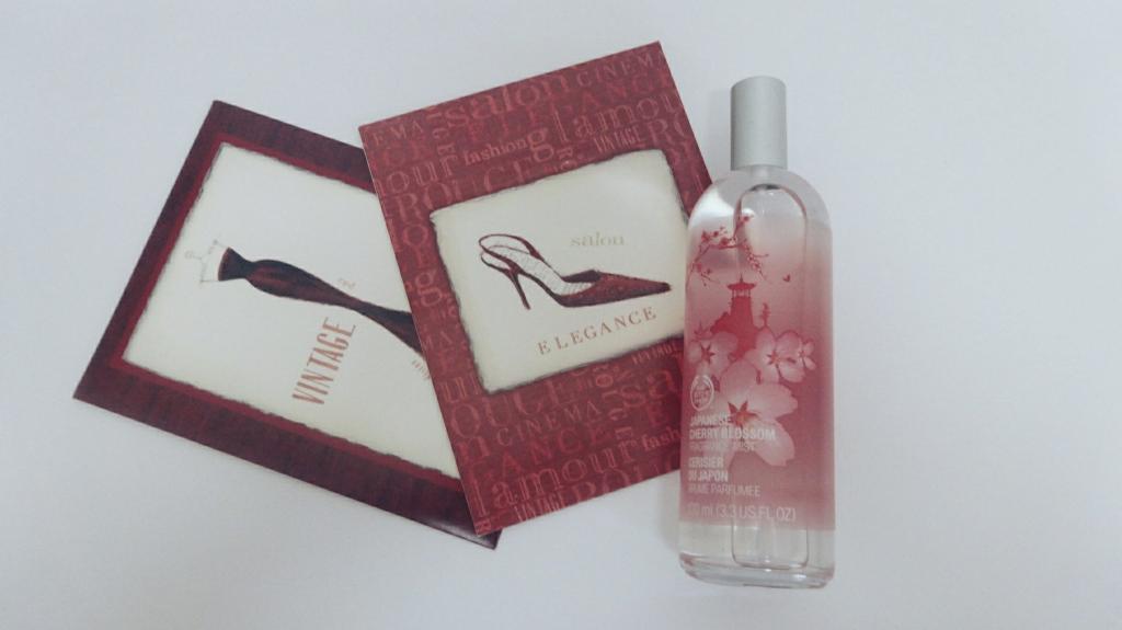 The Body Shop Japanese Cherry Blossom Fragrance Mist (famtaq.com)