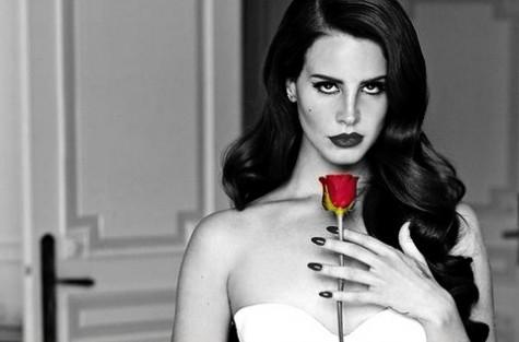 Lana Del Rey BW Rose